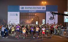 RunnersWeb  Athletics: Registration Well Underway for 2017 Standard Chartered Dubai Marathon