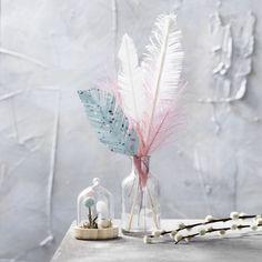 Glaskupol med fat H.12 cm