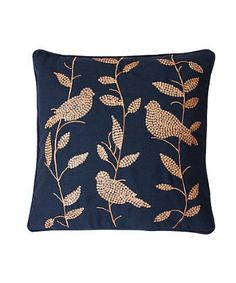 Add that touch of whimsy with this sequined bird pillow! #thro #throbyml #marlolorenz #bluefly #belleandclive #sale #like #love #fashion #spread #follow #share #cozy #comfy #throws #pillows #homedecor #home #decor #gifts #buy #shop