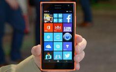 Lumia 730, aka the 'selfie phone' introduced by Microsoft