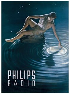 All About Vintage Philips Radios Vintage Advertising Posters, Old Advertisements, Vintage Ads, Advertising Signs, Radios, Retro Poster, Poster Ads, Poster Vintage, Vintage Magazine