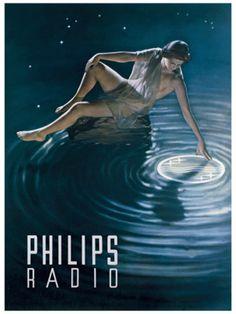 Philips Radio vintage advertisement