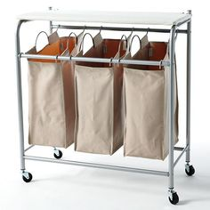 neatfreak Triple Sorter Hamper with Ironing Board