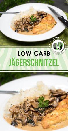 Das Jägerschnitzel mit Kohlrabi-Püree ist low-carb und glutenfrei. Und zudem ist es auch noch verdammt lecker.