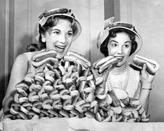 Hot dog eating contest: