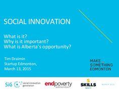 Tim Draimin: Making Change Through Social Innovation (Make Somethin...