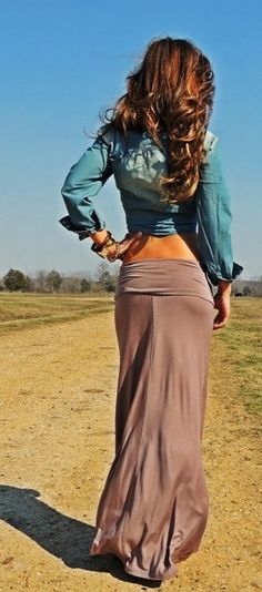 Sandy Maxi Skirt I need more maxi skirts!!! Love this style for the warm weather!