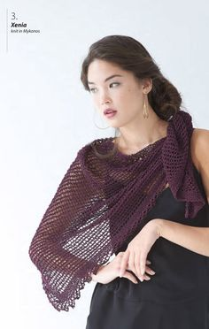 Xenia Shawl in Berroco Mykonos - Downloadable PDF. Discover more patterns by Berroco at LoveKnitting. We stock patterns, yarn, needles and books from all of your favourite brands.