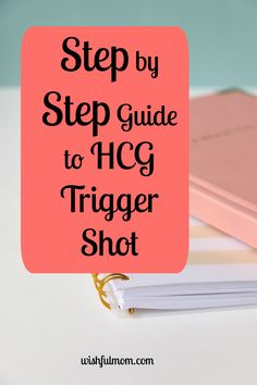This article is about HCG trigger shot, the purpose and how to take it. It describes the step by step instructions on how to administer.
