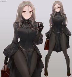 Female Character Design, Character Design Inspiration, Character Art, Kawaii Anime Girl, Anime Art Girl, Manga Art, Fantasy Characters, Female Characters, Anime Characters
