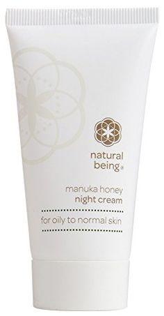 Face Skin Care Moisturizing Night Cream Natural  AntiAging Manuka Honey Manuka Oil  Organic Ingredients for a Clear Smooth and Radiant Face  NATURAL BEING NIGHT CREAM for Oily  Normal Skin by Living Nature >>> You can get additional details at the image link.