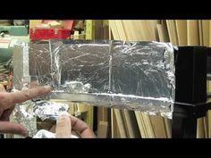 Silver Leafing Antique Restoration - Carrocel Restorations. My favorite