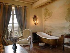 old bathroom - Borgo Santo pietro - Toscana