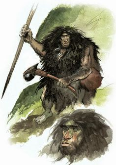 A+Neanderthal+sketch+by+Ossai,+found+on+Emmanuel+Roudier's+Neanderthal+Blog.jpg 400×567 pixels