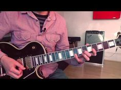 Race With The Devil by Cliff Gallup, Guitar Lesson, Part 1 - YouTube
