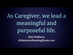 I Think About Alzheimer's Caregivers Every Day | Alzheimer's Reading Room