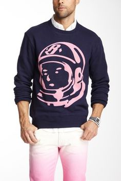 Billionaire Boys Club Long Sleeve Helmet Crew Neck Sweater
