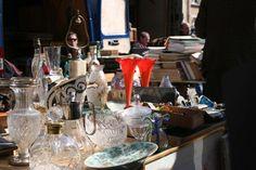 The Porte de Vanves flea market in Paris is one of the best flea markets in France.