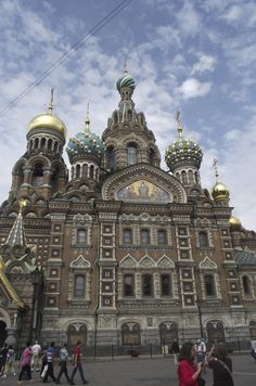 Church Of The Savior Of Spilled Blood – St. Petersburg, Russia