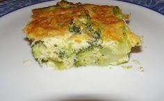 Μπρόκολο Σουφλέ   e-Συνταγόκοσμος Broccoli Souffle, Veggie Dishes, A Table, Quiche, Recipies, Food And Drink, Veggies, Cooking Recipes, Baking