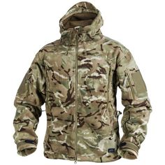 Warm, comfortable & sturdy Patriot Fleece in MTP camouflage. £54.99