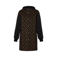 Products by Louis Vuitton: Bi-material Hooded Coat With Quilted Sleeves Coats For Women, Jackets For Women, Louis Vuitton Store, Cashmere Sweaters, Trendy Outfits, Ready To Wear, Street Wear, Collection, Sleeves