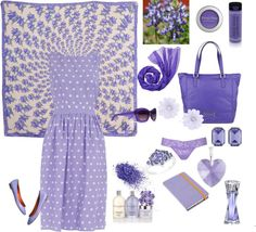 lavander, created by locahelena on Polyvore