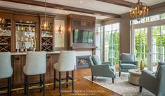 Custom House Design - Concept To Design New Construction, Home Values, Home Interior Design, Custom Homes, Design Projects, Outdoor Living, Living Spaces, Lounge, House Design