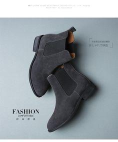 2016 зима челси натуральная кожа женщины сапоги ботинки женские матовой платформы плоским загрузки обувь черный серый коричневый ботильоны размер 40 ZK2.5 купить на AliExpress