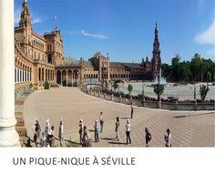 Diseño y Comunicación para el proeycto francés Un Pique-nique à Séville | http://www.limagemarketing.es/portfolio/pique-nique-seville/ | L'image Marketing | Agencia de Publicidad y Comunicación en Sevilla