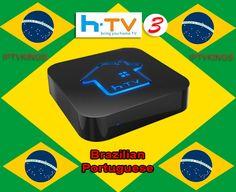 Português Brasileiro Android IPTV HD Filmes OnDemand & adulto TV brasileiros #HTV