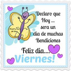 Hoy es viernes*para hacer que? Morning Thoughts, Happy Week, Prayer Verses, Spanish Quotes, Months In A Year, Facebook Sign Up, Teaser, Just Love, Best Quotes