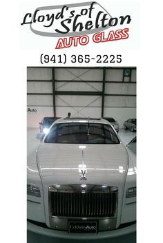 Windshield repair for a 2012 Rolls-Royce Ghost. Yes, that is a very nice car! https://lloydsofshelton.com/blog/auto-glass-replacement-sarasota-fl/ | #WindshieldReplacement #Sarasota