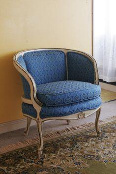ビンテージ家具・アンティーク家具&照明 Kio > チェア > ソファ > ローバックのフレンチソファ
