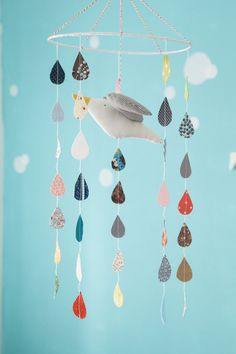 Seagull mobile (mix of colors) - nursery mobile - baby mobile - room decor on Etsy, $64.48 AUD