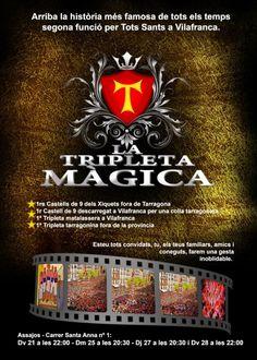 """""""La tripleta màgica"""", Xiquets de Tarragona. 2012."""