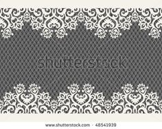 horizontal seamless background from a floral ornament