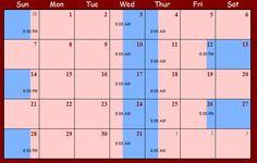 http://custodyx.hubpages.com/hub/Child-Visitation-Schedule-Examples