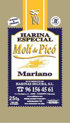 Harina Especial: muy suave, de poca tenacidad y mucha elasticidad. Es una harina equilibrada, tiene un P/L ajustado a su fuerza. Es especial para elaborar productos de fermentación rápida. W=80. Más información: 96 156 45 61.