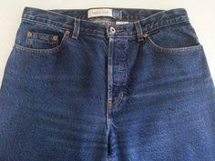 GAP Women's Jeans 12 Reg Denim Boot-Cut Medium Ins 31 High Rise 100% Cotton EUC #GAP #BootCut #ebay #GAP #BootCut #12RegDenim