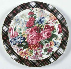 Ralph Lauren HAMPTON FLORAL Salad Plate 322028 #RALPHLAUREN