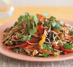 Asian-style warm mushroom salad | Healthy Food Guide