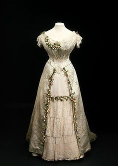 Queen Mary's wedding dress.