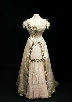 Queen Mary's wedding dress.