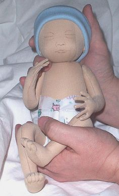 Preemie Cloth Doll Pattern
