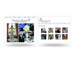 Maxine Wedding Photography - Website by David Torres Mora, via Behance