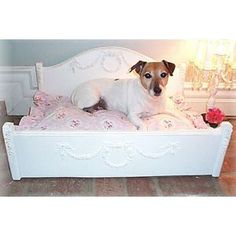 Cute dog bed (for inspiration) > available from Swank Pets