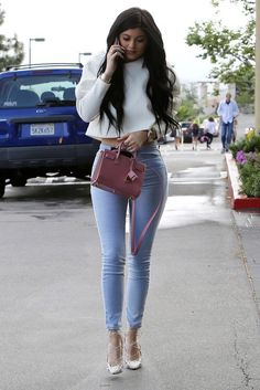 #KylieJenner #streetstyle