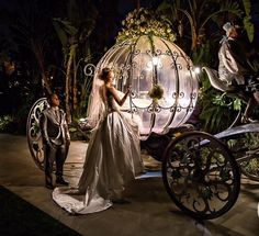 Cinderella wedding! Love this!