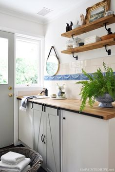 5 Brilliant Ideas For Designing A Laundry Room | Organised Pretty Home